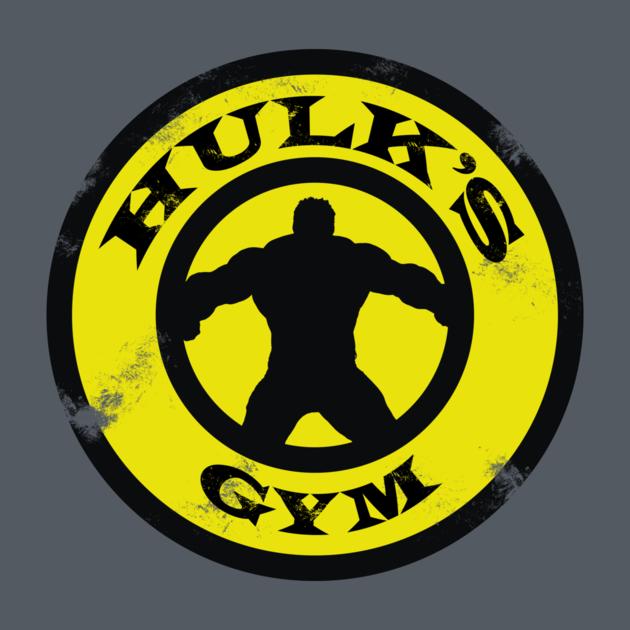 Hulks Gym Incredible Hulk Avengers Teepublic So Geekin