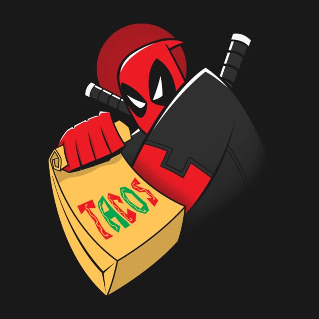 Taco 39 s the animated series so geekin 39 awesomeso geekin for Deadpool show