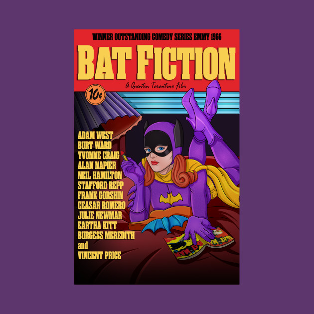 Bat Fiction | The Ultimate Mash-up Tee