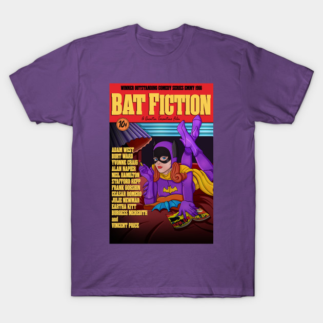 Bat Fiction tee | the ultimate mash-up tee