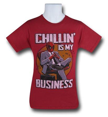 Marvel Deadpool Chillin is my Business