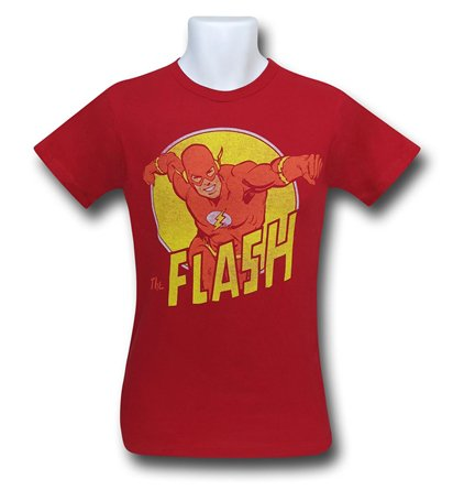 DC Flash Classic Run Tee | DC vs Marvel Ultimate Movie Ranking