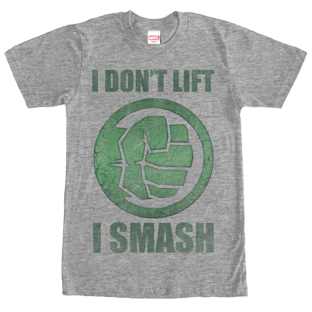 Marvel Hulk I Smash Tee | DC vs Marvel Ultimate Movie Ranking