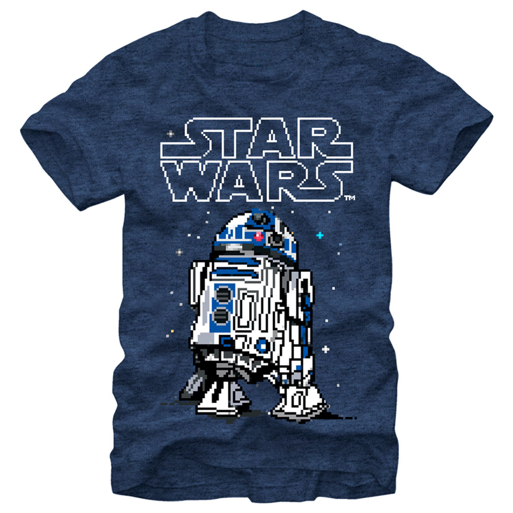 16bit R2D2 | Star Wars | Sunfrog Tees