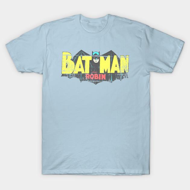 Worn Bat Logo | Batman and Robin | Batman | Robin |  DC | DC comics
